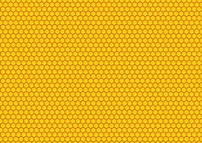 comp蜂蜜模式 免版税库存照片