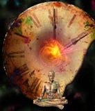 Comp de la meditación stock de ilustración