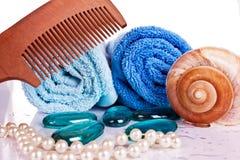 comp ręczniki zdjęcie stock
