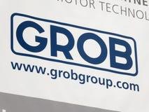 Compañía alemana de Grob - de Werke fotografía de archivo