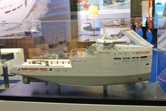 Compañía Damen de la construcción naval del soporte Foto de archivo libre de regalías