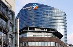 Compañía de Bouygues Telecom Imagen de archivo libre de regalías