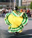 Compañía de danza mexicana de Calpulli Fotografía de archivo