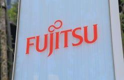 Compañía de electrónica japonesa de Fujitsu fotografía de archivo libre de regalías