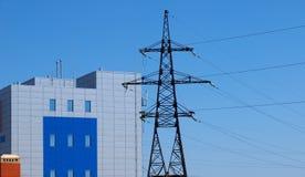 Compañía de gestión de energía Imagen de archivo libre de regalías