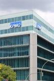 Compañía de la auditoría de KPMG Fotos de archivo libres de regalías