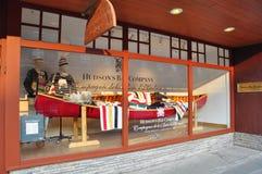 Compañía de la bahía de Hudson, avenida de Banff Fotografía de archivo