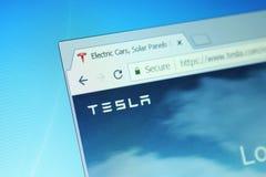 Compañía de Tesla fotos de archivo libres de regalías