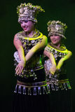 Compañía del arte de Zhuhai Han Sheng. Festival de primavera 2013. Fotos de archivo