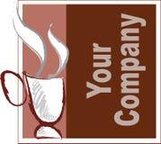 Compañía del café Stock de ilustración