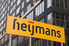 Compañía del contruction de Heijmans Fotos de archivo
