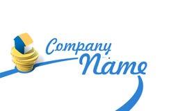 Compañía del logotipo Imagen de archivo