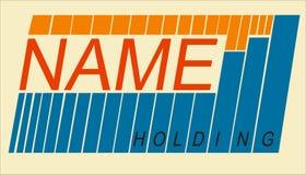 Compañía del logotipo Imagenes de archivo