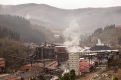 Compañía del minero en Turquía Imágenes de archivo libres de regalías