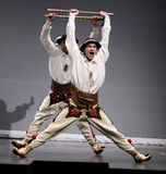 Compañía nacional de la danza de Polonia - Mazowsze Foto de archivo libre de regalías