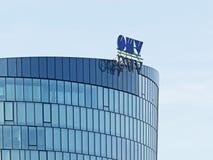 Compañía petrolera de petróleo y gas austríaca OMV Imágenes de archivo libres de regalías