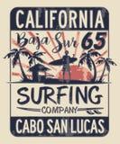 Compañía que practica surf de Baja California Sur libre illustration