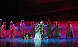 Compañero en luna del ballet de la adversidad-Hui sobre Helan Imagen de archivo