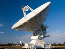 Compact Array Telescope. Used for scientific research Stock Image