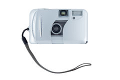 Compact camera isolated on white. Royalty Free Stock Photography