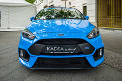 Compact car Ford Focus RS (third generation). Stock Photography