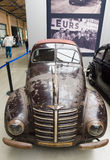 The compact car Hanomag 1,3 Liter. BERLIN, GERMANY - MAY 17, 2014: The compact car Hanomag 1,3 Liter (1940). 27th Oldtimer Day Berlin - Brandenburg Royalty Free Stock Photo
