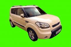 Compact car KIA. Stock Photos
