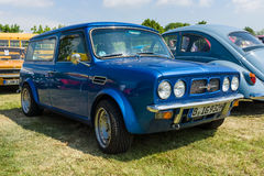 Compact car Morris Mini Clubman Estate. Royalty Free Stock Photos