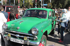 Compact all-wheel-drive car Moskvitch 410 (based on Moskvitch 402)  Royalty Free Stock Photos