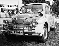 Compact car Renault 4CV Stock Photography