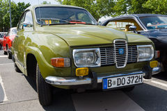 Compact car Saab 96 Royalty Free Stock Images