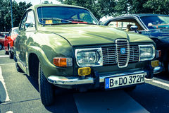 Compact car Saab 96 Stock Photography