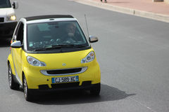 Compact Car Smart Fortwo in Monte-Carlo, Monaco Royalty Free Stock Photos