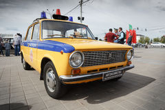 Compact car VAZ 2111. Royalty Free Stock Photo