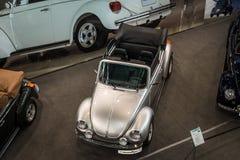 Compact car Volkswagen Beetle Cabrio. Royalty Free Stock Image