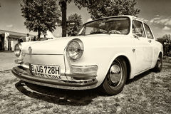 Compact car Volkswagen 1500 (Notchback) Stock Photography