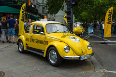 A compact car VW Beetle in the color ADAC Stock Image