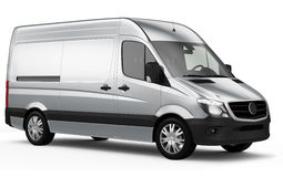 Compact cargo van. On a white background Stock Photography