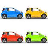 Compact Cars stock photo