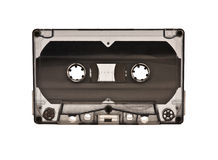 Compact cassette. On white background Royalty Free Stock Photos