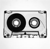 Compact cassette. Music - Rock - Awesome - Vintage - Analogue Royalty Free Stock Photo