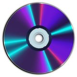 Compact CD or DVD disc Royalty Free Stock Images