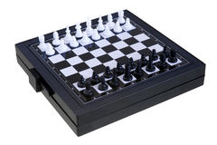 Compact Chess 1 Royalty Free Stock Photos