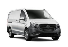 Compact commercial van Royalty Free Stock Photography