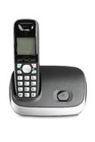 Compact cordless phone Royalty Free Stock Image