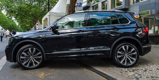 Compact crossover SUV Volkswagen Tiguan, 2016 Royalty Free Stock Photography