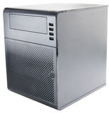 Compact desktop server Stock Photo