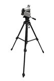 Compact digital camcorder on tripod Stock Photo