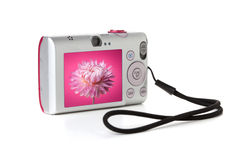 Compact digital camera Royalty Free Stock Photography