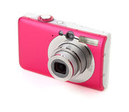 Compact digital camera Royalty Free Stock Photo